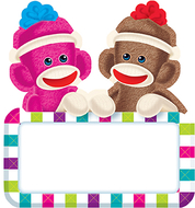 Sock monkeys signs classic accents