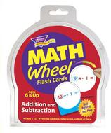 Math wheel flash cards 12/pk  addition & subtraction
