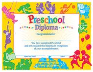 Classic diploma preschool 30/pk  8-1/2 x 11