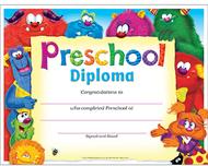 Preschool diploma furry friends