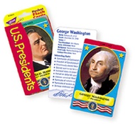 Pocket flash cards presidents 56-pk  3 x 5 two-sided cards