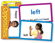 Pocket flash cards opposites 56-pk  3 x 5 two-sided cards