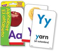 Pocket flash cards alphabet el  alfabeto