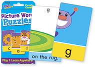 Challenge cards picture word puz
