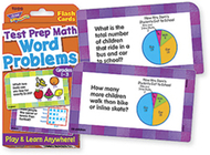 Challenge cards test prep math  gr 1-3 word problems