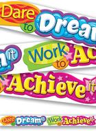 Dare to dream it 10ft horizontal  banner