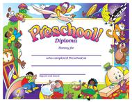 Diploma preschool 30/pk 8-1/2 x 11
