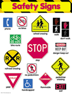 Chart safety signs