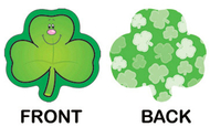 Mini cutouts single shamrocks