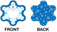 Mini cut out snowflakes single  design