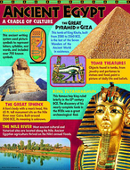 Ancient egypt learning chart