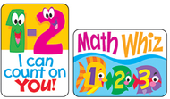 Applause stickers math fun 100/pk  acid-free