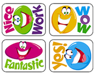 Applause stickers smiley 100/pk  faces acid-free