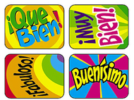 Applause stickers spanish 100/pk  hooray acid-free