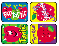 Applause stickers awesome 100/pk  apples acid-free