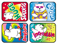 Applause stickers polar power