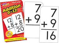 Flash cards addition 0-12 91/box