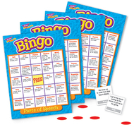 Bingo parts of speech ages 8 & up