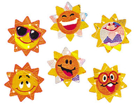 Sparkle stickers sunny smiles