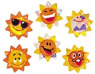 Sparkle stickers sunny smiles