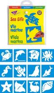 Stencils sea life