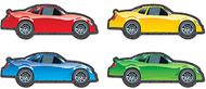 Race cars cut outs