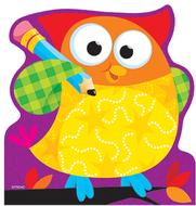 Owl stars note pad