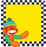Sock monkey note pad