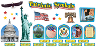 Bb set patriotic symbols