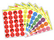 Stinky stickers smiles 432/pk  variety pk acid-free