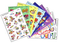 Stinky stickers mixed shapes 525/pk  jumbo acid-free variety pk