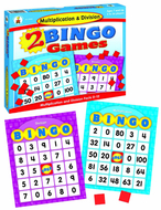 Multiplication & division bingo
