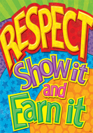 Respect show it and earn it argus  large poster