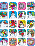 Stickers winter