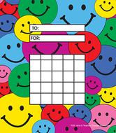 Happy faces 36sht incentive charts