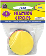 Foam fraction circles
