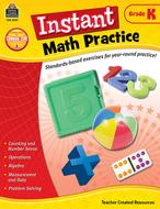 Instant math practice gr k