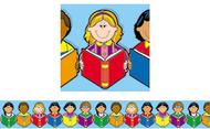 Border multicultural class w/  border multicultural classroom