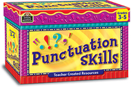 Punctuation skill cards gr 3-5