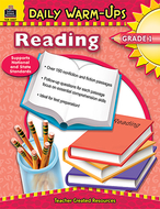 Daily warm-ups reading gr 1