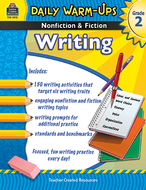 Daily warm ups gr 2 nonfiction &  fiction writing book