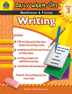 Daily warm ups gr 3 nonfiction &  fiction writing book