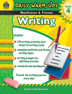 Daily warm ups gr 4 nonfiction &  fiction writing book
