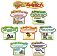 Parts of speech mini bb set