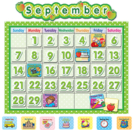 Polka dot school calendar bb  board