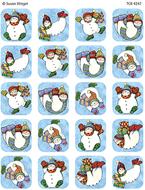 Sw snowman stickers