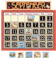 Classroom calendar bulletin board