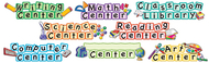 Center signs mini bb set 8/pk