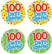 100 days smarter wear em badges