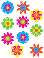 Fun flowers accents